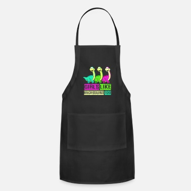 Science Brachiosaurus Dinosaur Long Neck Dino - Apron