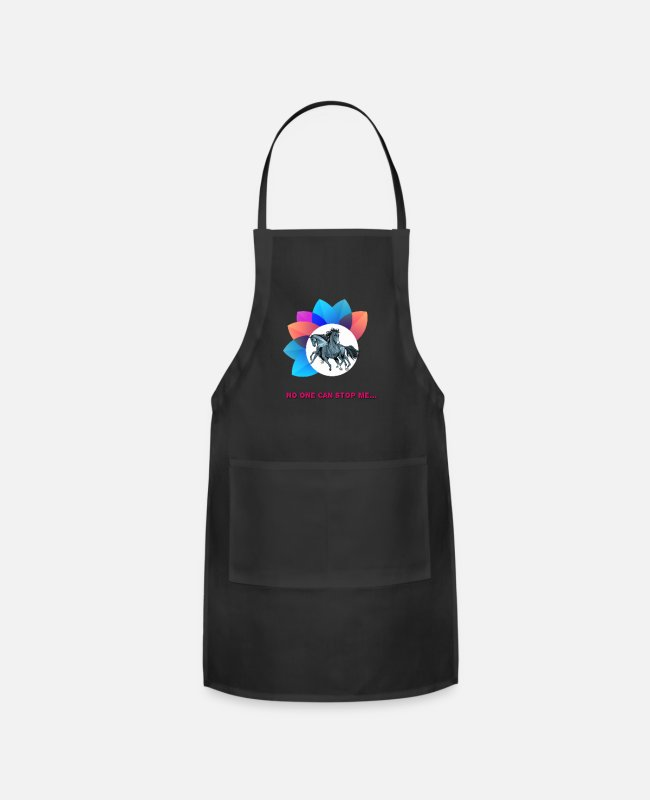 Can Aprons - No one can stop me - Apron black