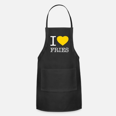French I LOVE FRIES - Adjustable Apron