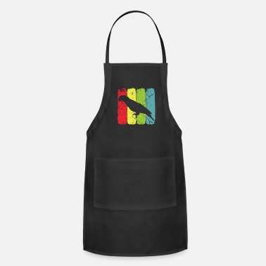 Budgie Parrot Language Lean Irokese Cheerful - Adjustable Apron