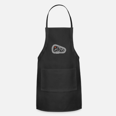 Carabiner Carabiner - Mountain Climbing Outdoor Gift - Adjustable Apron
