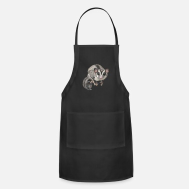 Glider Sugar Glider Shirt - Gift For Sugar Glider Lovers - Adjustable Apron