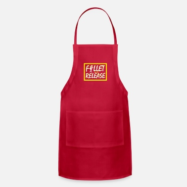 Fillet Funny Fishing Fillet and Release Carp Fish Gift - Apron