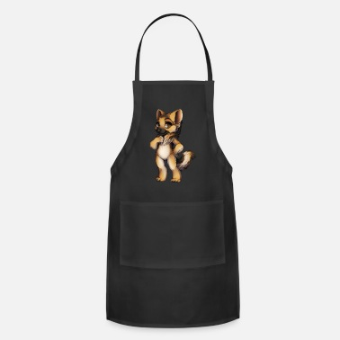 German GERMAN SHEPHERD ART - Apron