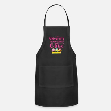Last university never looked so cute - Apron