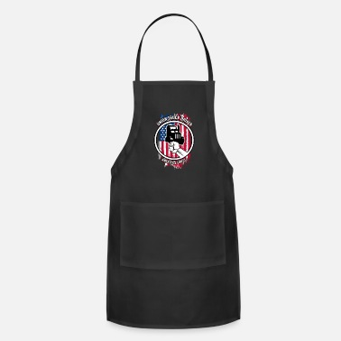 Solidarity Union Truck Driver Gift | Proud American Skilled - Apron