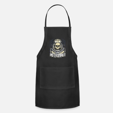 Spacemonster Astronaut Skull Spacemonster Sci-fi - Apron