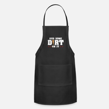 Rub RUB SOME DIRT ON IT | Baseball - Apron