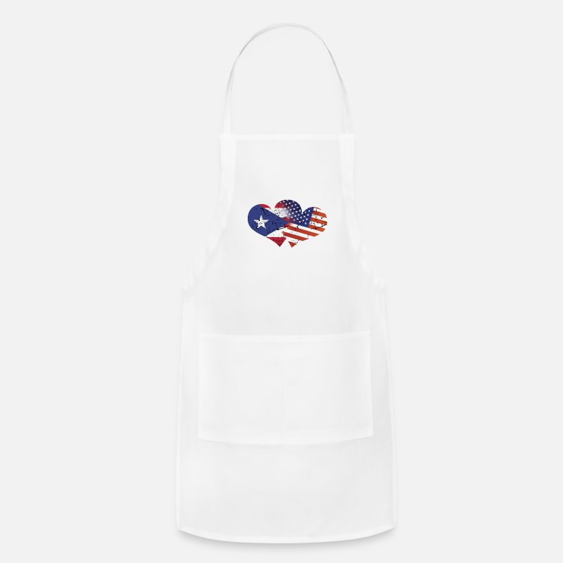 fcd9ab8eb7a Puerto Rico Flag USA Flag Puerto Rican Independence Day Puerto Rican Flag  American Flag Apron