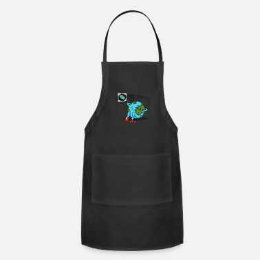 Sit-ups funny sit up gift - Apron