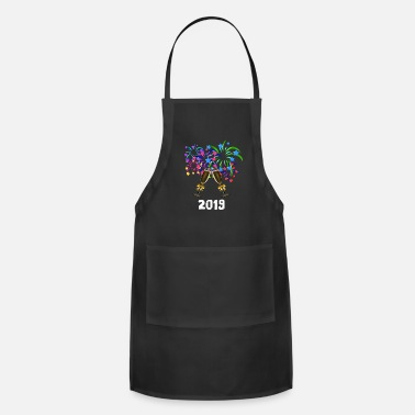 Eve New Year's Eve party - Apron