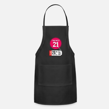Twenty 21th Birthday 21 Years twenty one Years - Adjustable Apron