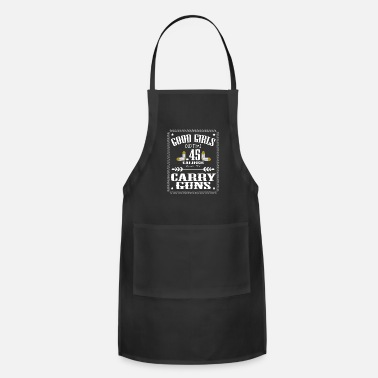 Caliber Good Girls Old Time Caliber 45 Carry Gun tee - Apron