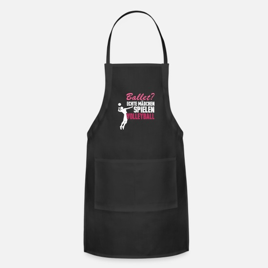 Beach Volleyball Aprons - Volleyball Volleyball player - Apron black