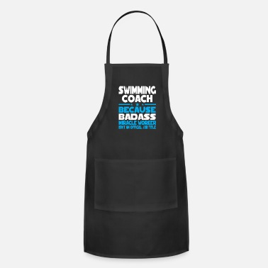 Coach Swim Swimming Coach - Apron