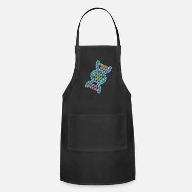 Virus DNA strand genome biologist research gift - Apron