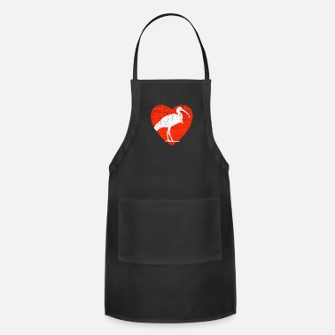 Stork Heart For Ibis - Apron