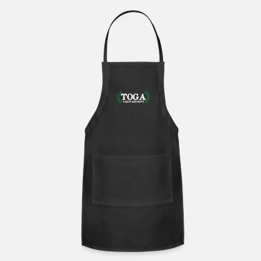 Funny Fraternity Toga Party Security Guard Funny Fraternity - Apron