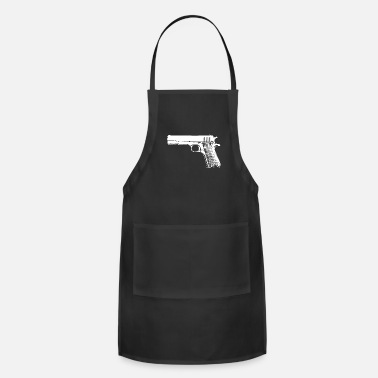 Caliber Pistol Colt M1911 Gift idea - Adjustable Apron