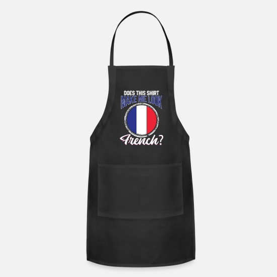 Eiffel Tower Aprons - France - Apron black