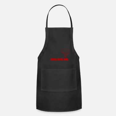 Drawing Long Train Drawing Present Gift Idea T-Shirt - Apron