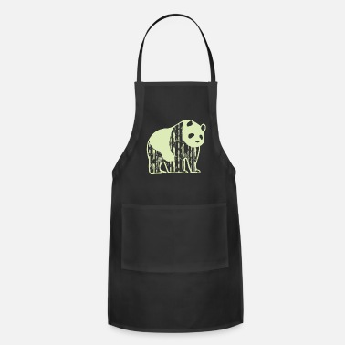 Animal Welfare Panda animal welfare - Adjustable Apron