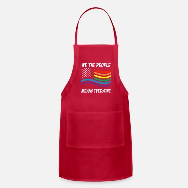 Miscellaneous LGBT people people rights politics gift USA - Apron