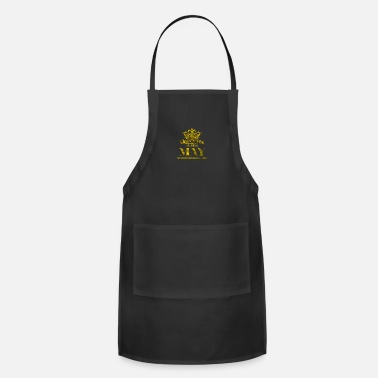 May Birthday Queens are Born in May gold - Apron