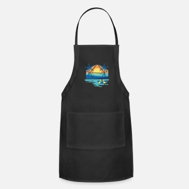 Colorcontest Sunset Summer Beach - Apron