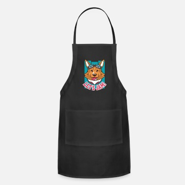 Jam Dog Jam - Adjustable Apron