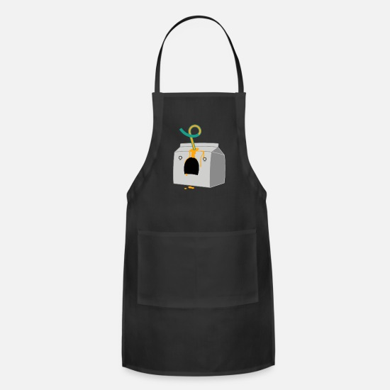 Game Aprons - Cartons Of Death - Apron black