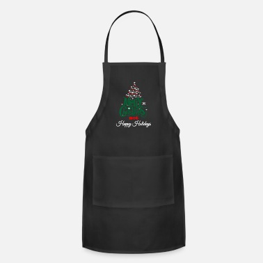 Merry Christmas Not Happy Holiday - Apron