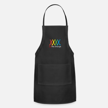 Change be the change - Apron
