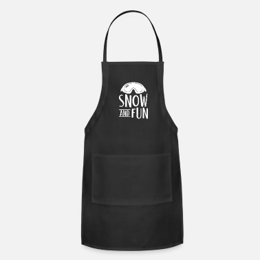 Snowflake snowflake - Adjustable Apron