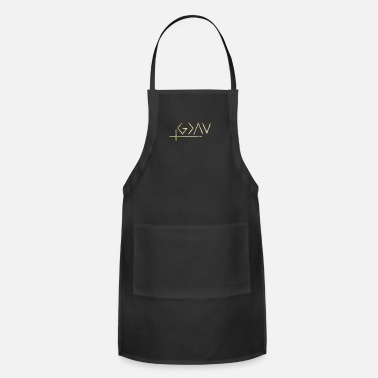 God Is Greater Than Highs And Lows god is greater than the highs and lows shirt - Apron