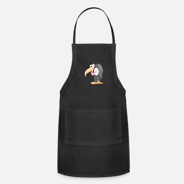 Vulture Cartoon Vulture - Apron
