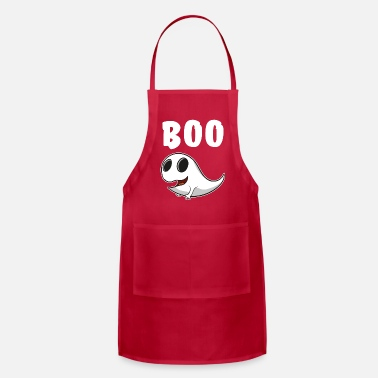 Ghost Ghost ghost boo - Apron