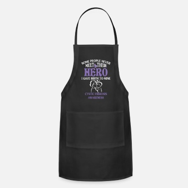 Birth Cystic Fibrosis Awareness Mother's Day T Shirt - Apron