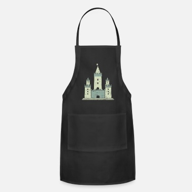 Lake lock gift Knight fortress prince - Adjustable Apron