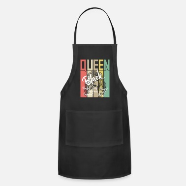 Black Girl Power Black Queen Black Power - Apron