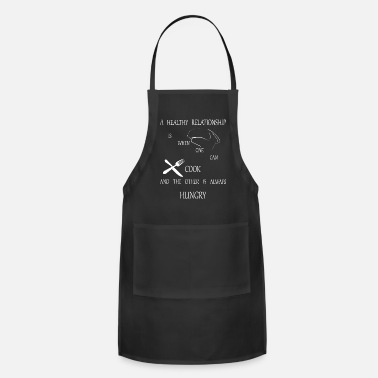Fork A working relationship cook gift shirt - Apron