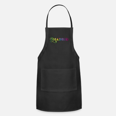 Angel Bestseller Madrid Spain City Premium Gift - Apron