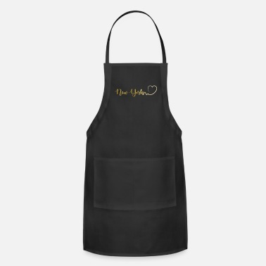 Parents Bestseller New York City USA City Premium Gift - Apron