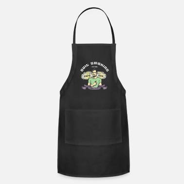 Nonsmoking Vaping E-Cigarette Quit Smoking - Apron