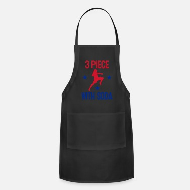 Gamebred Sticker 3 Piece with Soda Gamebred MMA Punch Fighter Fun - Apron