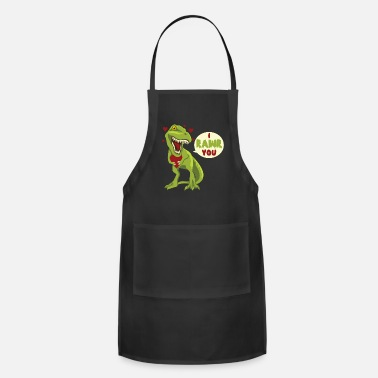 Steal I Rawr You T-Rex Dinosaur Dino Valentines Day Gift - Apron