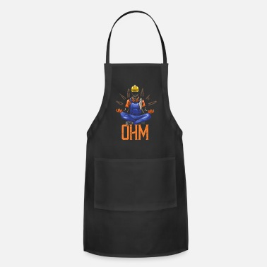 Patriot Ohm Meditating Electrician Construction - Apron
