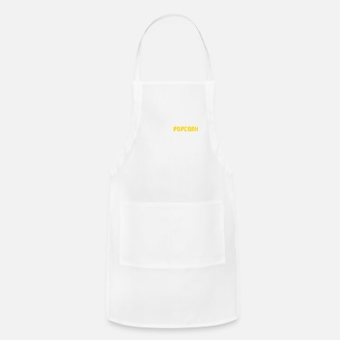 I'm Just Here For The Popcorn - Apron
