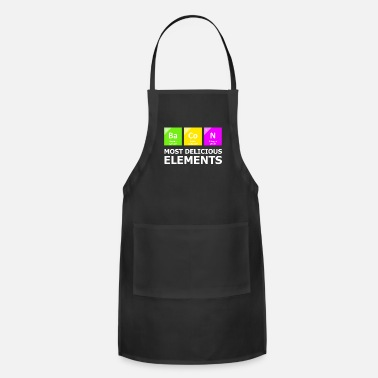 Periodic Table Bacon Most Delicious Elements - Apron