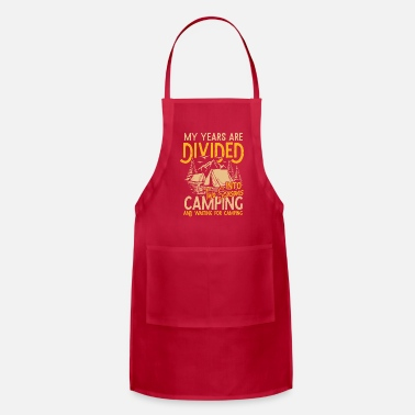 Two Seasons Camping | happiness in a tent gift - Apron